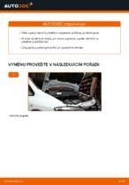 Jak vyměnit vzpěru předního tlumiče na autě Opel Zafira F75