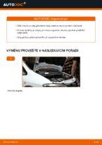 Jak vyměnit pružiny předního zavěšení kol na Opel Zafira F75