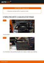 Jak vyměnit ozubený klínový řemen motoru na Skoda Fabia 6Y5
