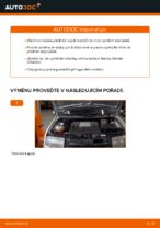 Jak vyměnit uložení přední vzpěry zavěšení kol na Skoda Fabia 6Y5