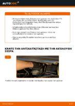 Πώς αντικαθιστούμε εμπρόσθιους δίσκους φρένων σε Opel Zafira F75