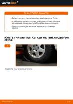 Πώς αντικαθιστούμε μπαλάκια ακρόμπαρου σε Opel Zafira F75