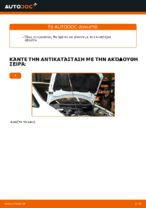 Πώς αντικαθιστούμε ιμάντα poly-V κινητήρα σε Opel Zafira F75