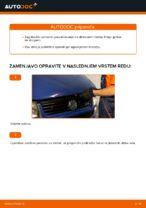 Navodila po korakih za popravilo VW T4 Van