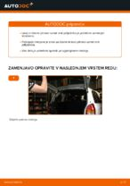 Zamenjavo Drzalo, vlezajenje stabilizatorja OPEL ZAFIRA: navodila za uporabo
