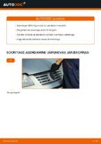 Automehaaniku soovitused, selleks et vahetada välja VW VW Sharan 1 2.0 TDI Rattalaager