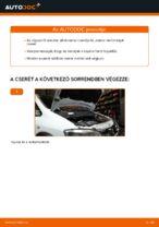 Hogyan cseréje és állítsuk be Olajszűrő OPEL ZAFIRA: pdf útmutató