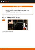 Kā nomainīt Opel Zafira F75 bagāžnieka vāka amortizatorus