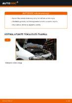 Kaip pakeisti alyvą ir alyvos filtrą Opel Zafira F75