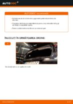 Cum se înlocuiesc arcurile suspensiei din spate a autovehiculului OPEL CORSA C (F08, F68)