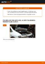 Luftfilter wechseln OPEL ZAFIRA: Werkstatthandbuch