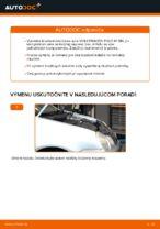 Ako vymeniť predné brzdové kotúče na VOLKSWAGEN POLO IV (9N_)