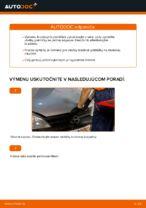 Ako vymeniť brzdové platničky zadných brzdových čeľustí na Opel Corsa C