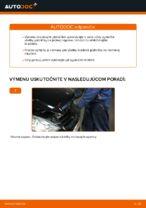 Vymeniť Brzdové doštičky MERCEDES-BENZ A-CLASS: zadarmo pdf