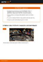 Ako vymeniť zadné brzdové kotúče na VOLKSWAGEN GOLF V