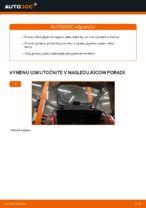 Výmena Drżiak ulożenia stabilizátora CITROËN XSARA PICASSO (N68): tutorial pdf