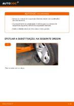 Substituição Amortecedor de suspensão BMW X3: pdf gratuito