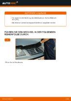 VW SHARAN Wartungsanweisungen