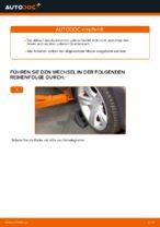 Wie Achslenker BMW X3 auswechseln und einstellen: PDF-Anleitung