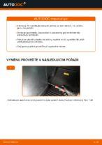 Jak vyměnit kabinový vzduchový filtr na Opel Zafira F75
