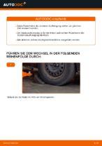 Wie Stoßdämpfer Satz Gasdruck beim FORD FOCUS II (DA_) wechseln - Handbuch online
