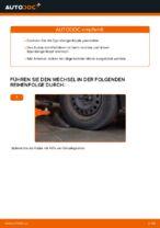 Wie der Austausch von Spurstangenköpfen bei Ford Focus 2 DA diesel-Autos funktioniert