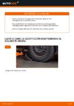 Cómo reemplazar un puntal amortiguador delantero en un Ford Focus 2 DA diésel