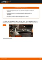 Kako zamenjati plinske vzmeti vrat prtljažnika na BMW E39