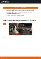 Kuidas asendada BMW E39 pagasiluugi gaasiamorte