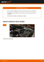 Kā nomainīt priekšējās piekares amortizatora statni BMW E39