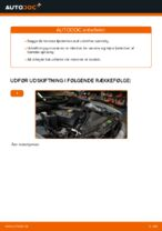 Hvordan forreste fjederben udskiftes på BMW E39