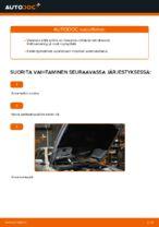 Kuinka vaihtaa polttoainesuodatin BMW E39 malliin