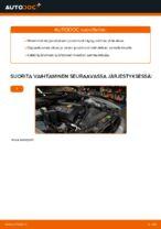 Kuinka vaihdat joustintuet BMW E39-autoon