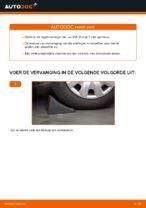 Leer hoe u de VW Wiellager achter links rechts kunt oplossen