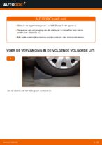 Wiellager vervangen VW SHARAN: werkplaatshandboek