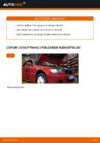 Sådan udskifter du motorolie og oliefilter på BMW E46 Cabriolet