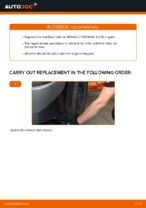 DIY manual on replacing Stabiliser link RENAULT MEGANE II Saloon (LM0/1_)