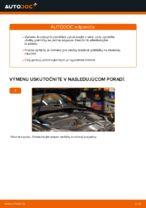 Ako vymeniť zadné brzdové platničky kotúčovej brzdy na VOLKSWAGEN GOLF V