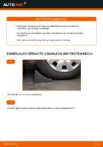 navodila za popravilo in vzdrževanje