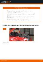 Kako zamenjati sprednji nosilec opornika vzmetenja na BMW E46 Cabrio