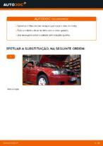 Como substituir o óleo do motor e um filtro de óleo em BMW E46 Cabrio