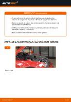 Como substituir a montagem de suporte de suspensão dianteiro em BMW E46 Cabrio