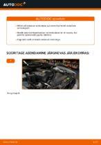 Kuidas vahetada esimesi suspensiooni vedrusid autol BMW E39