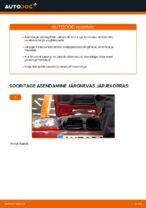 Kuidas vahetada salongiõhu diltrit autol BMW E46 Cabrio