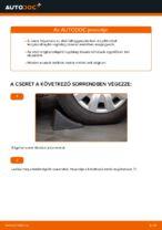 Lépésről-lépésre PDF-útmutató - VW SHARAN (7M8, 7M9, 7M6) Axiális Csukló Vezetőkar csere