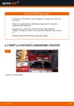 BMW E46 Cabrio kabinszűrő csere