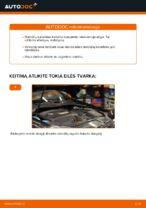 Kaip pakeisti ir sureguliuoti Stabdžių Kaladėlės VW GOLF: pdf pamokomis