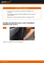 Koppelstange wechseln RENAULT MEGANE: Werkstatthandbuch