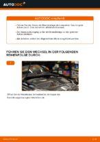 Wie Sie die hinteren Bremsbeläge am VOLKSWAGEN GOLF V ersetzen