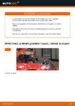 Comment remplacer le support de jambe de suspension avant sur une BMW E46 Cabriolet